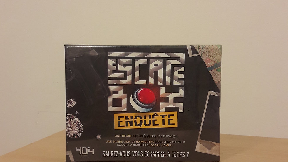 Escape Box : Enquête
