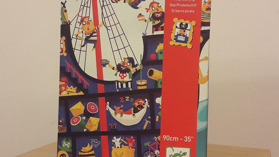 """Puzzle géant """"Le bateau des pirates"""""""