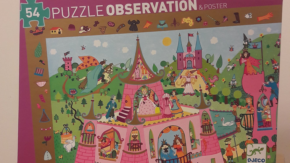 "Puzzle observation ""Princesses"""