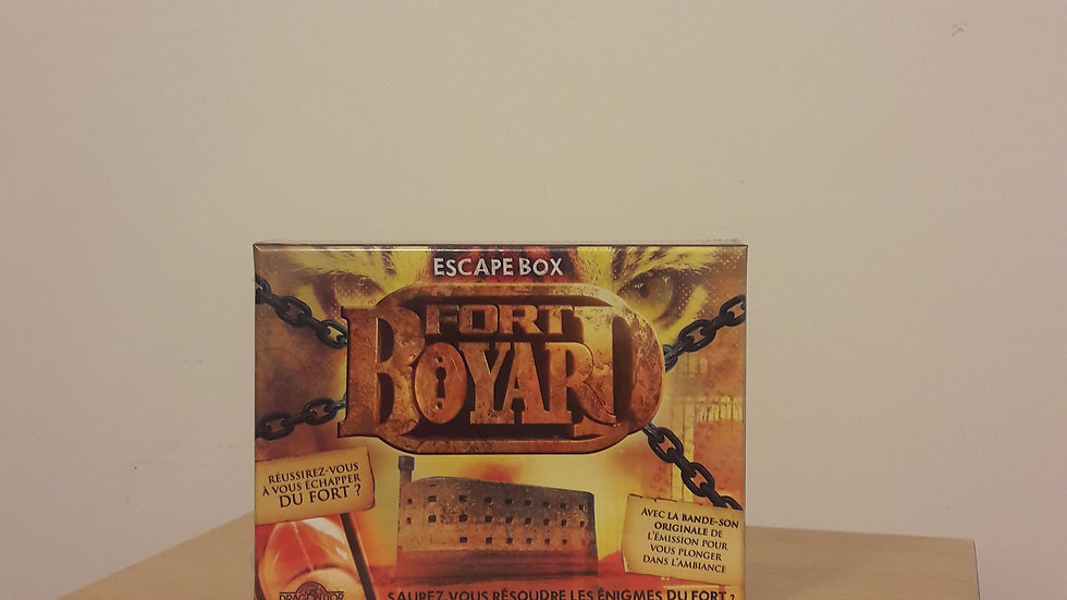 Escape Box Fort Boyard 2