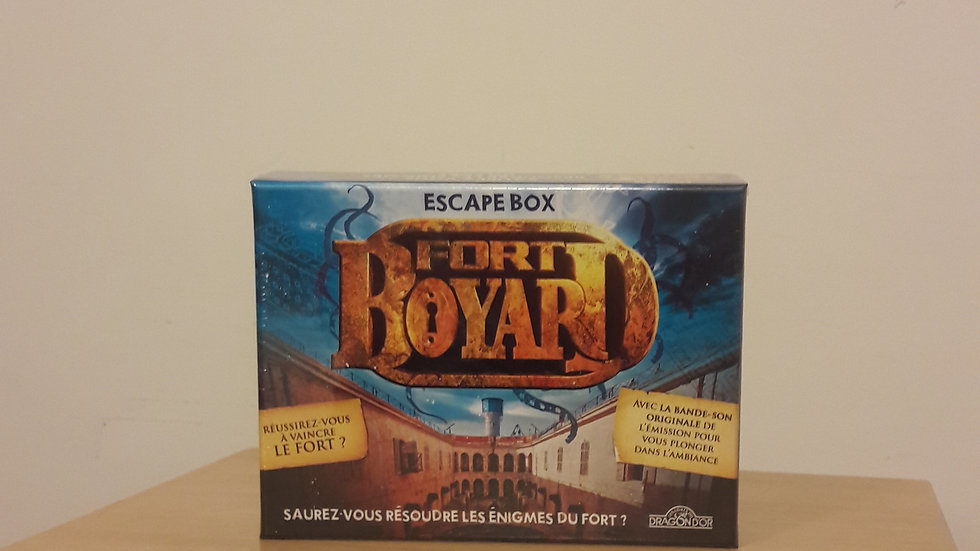 Escape Box Fort Boyard 1