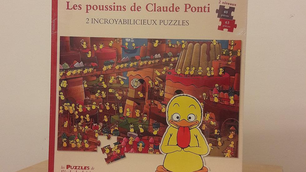 Les poussins de Claude Ponti