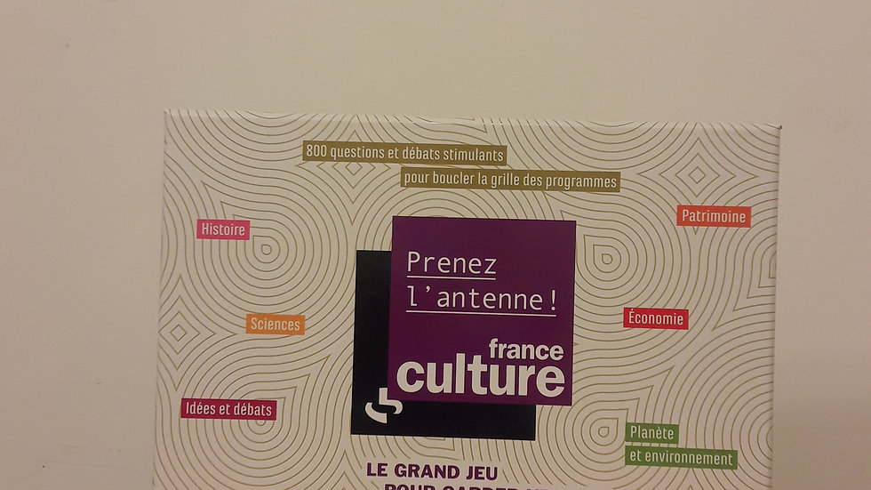 Le jeu France Culture