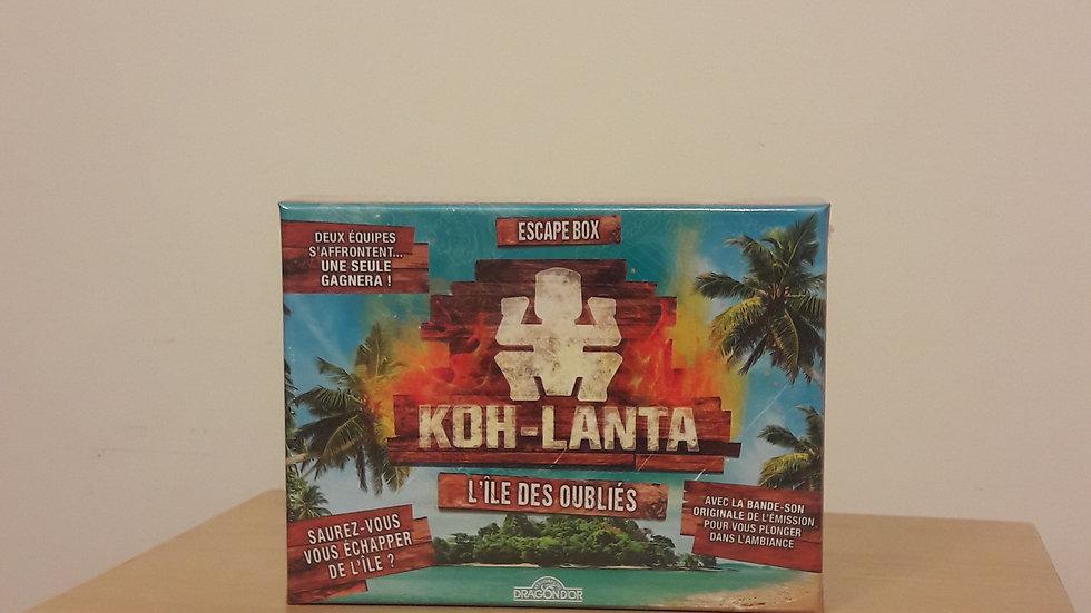 Escape Box : Koh-Lanta, l'île des oubliés