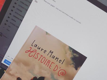 Histoire d'@ de Laure Manel