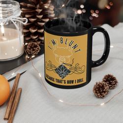 im-blunt-11oz-black-mug