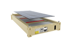 Prototipo Modulo Generacion Solar Conten