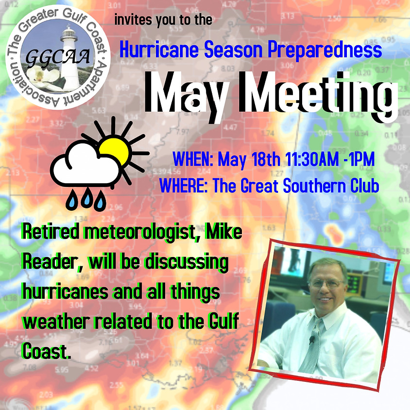 Hurricane's and the Mississippi Gulf Coast, with Mike Reader!!1