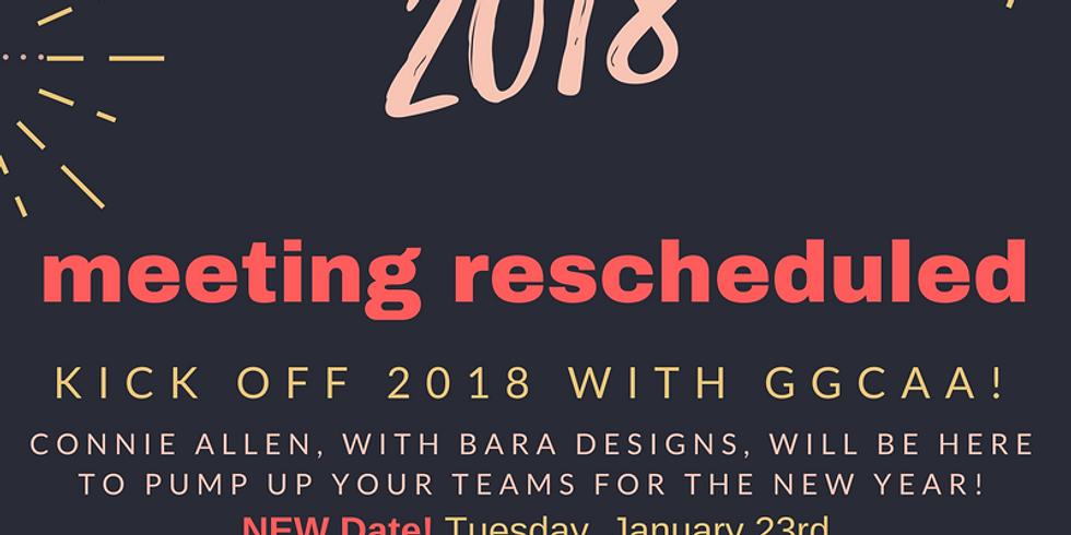 2018 Kickoff Meeting