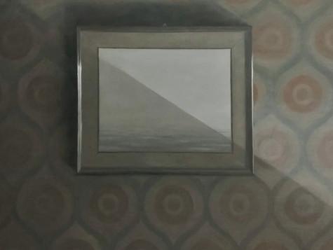 Mourning Light (Framed Seascape)
