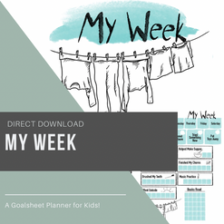 My Week Goalsheet for Kids
