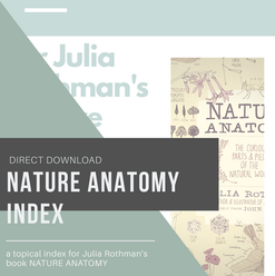 Nature Anatomy Index