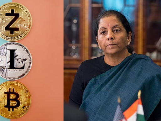 Government's stand on cryptocurrencies in the backdrop of the SC  judgement:FM Sitharaman