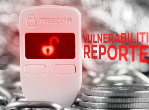 Kraken Identifies Critical Flaw in Trezor Hardware Wallets