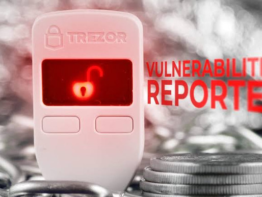 Kraken Identifies Critical Flaw in Trezor Hardware Wallets
