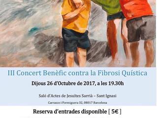 III Concierto Benéfico contra la Fibrosis Quística
