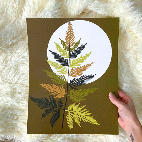 Wolf Moon Print || 11x14
