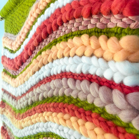 'Tulips' Weaving
