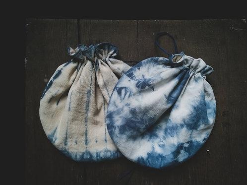 Pochon ou Petit sac SHIBORI
