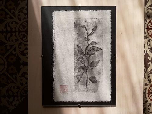 "Linogravure ""Botanical"""
