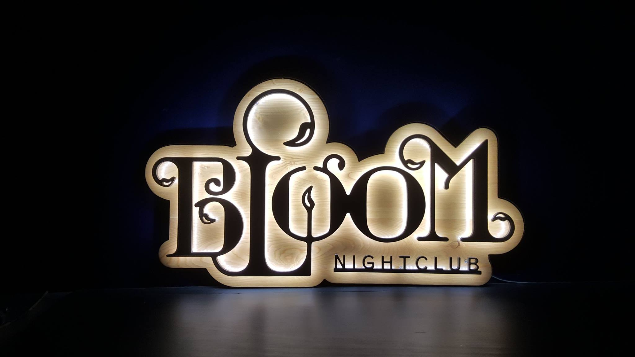 Bloom Halo Sign