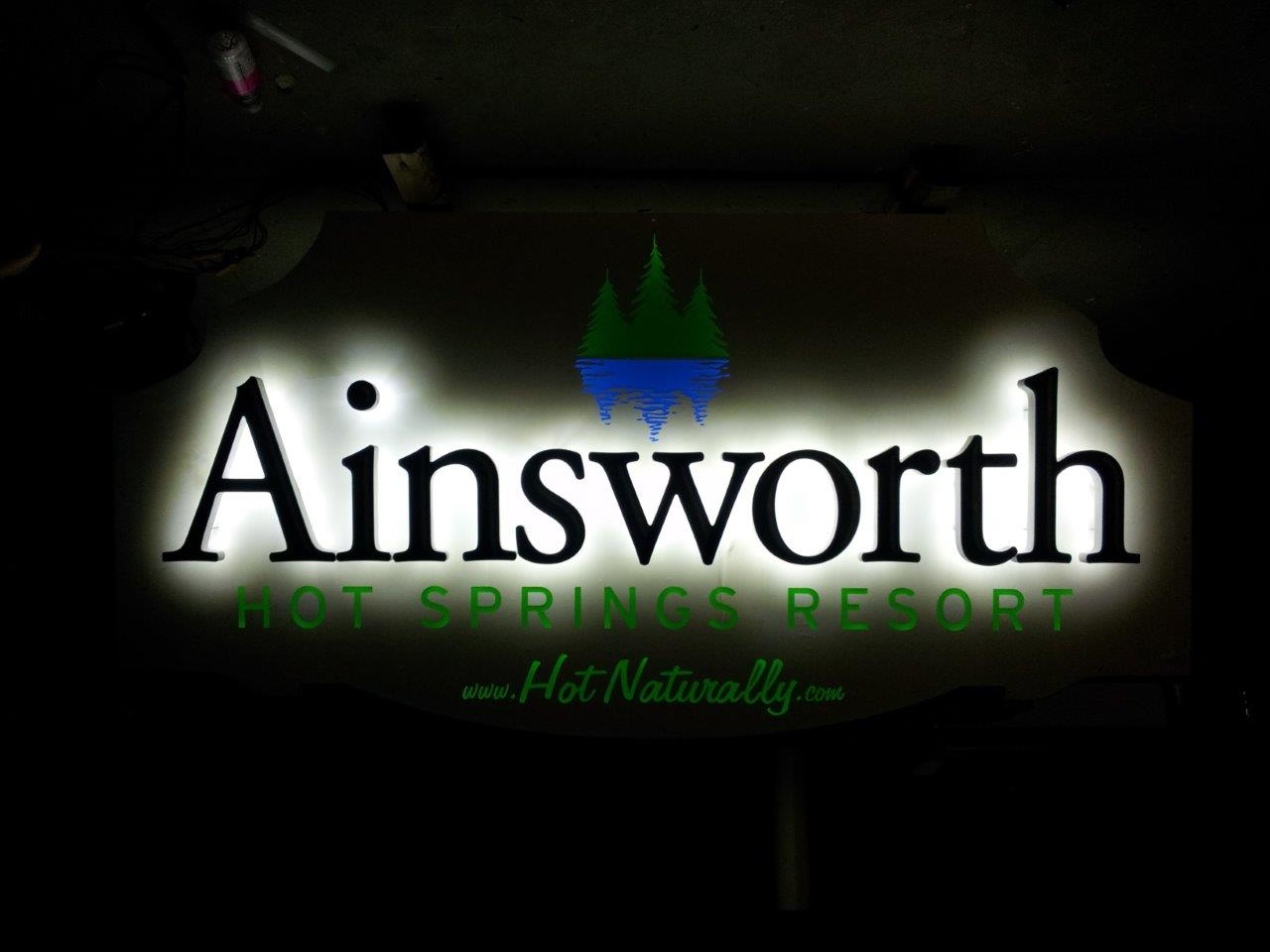 Ainsworth Halo Sign