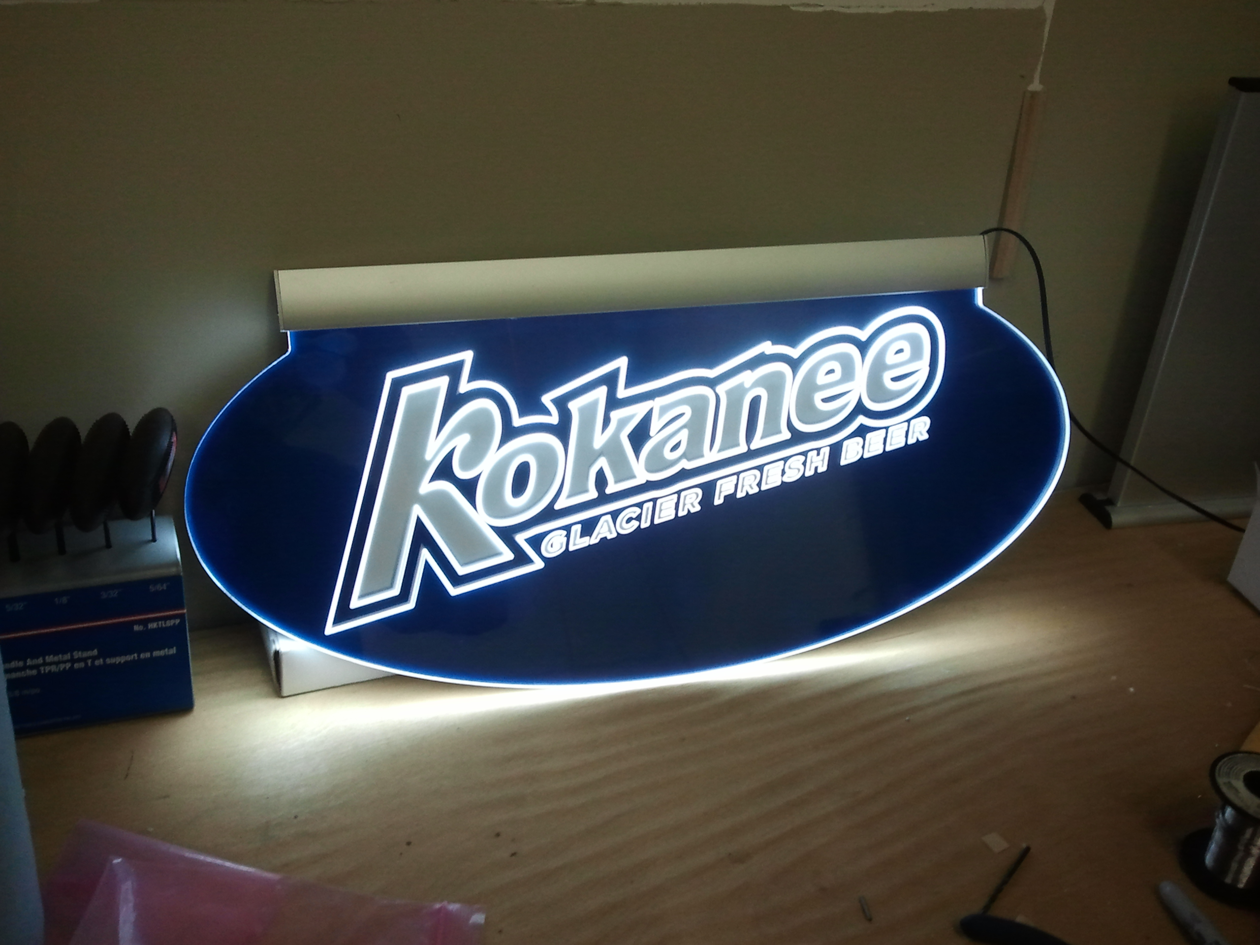 Kokanee Edgelit Sign