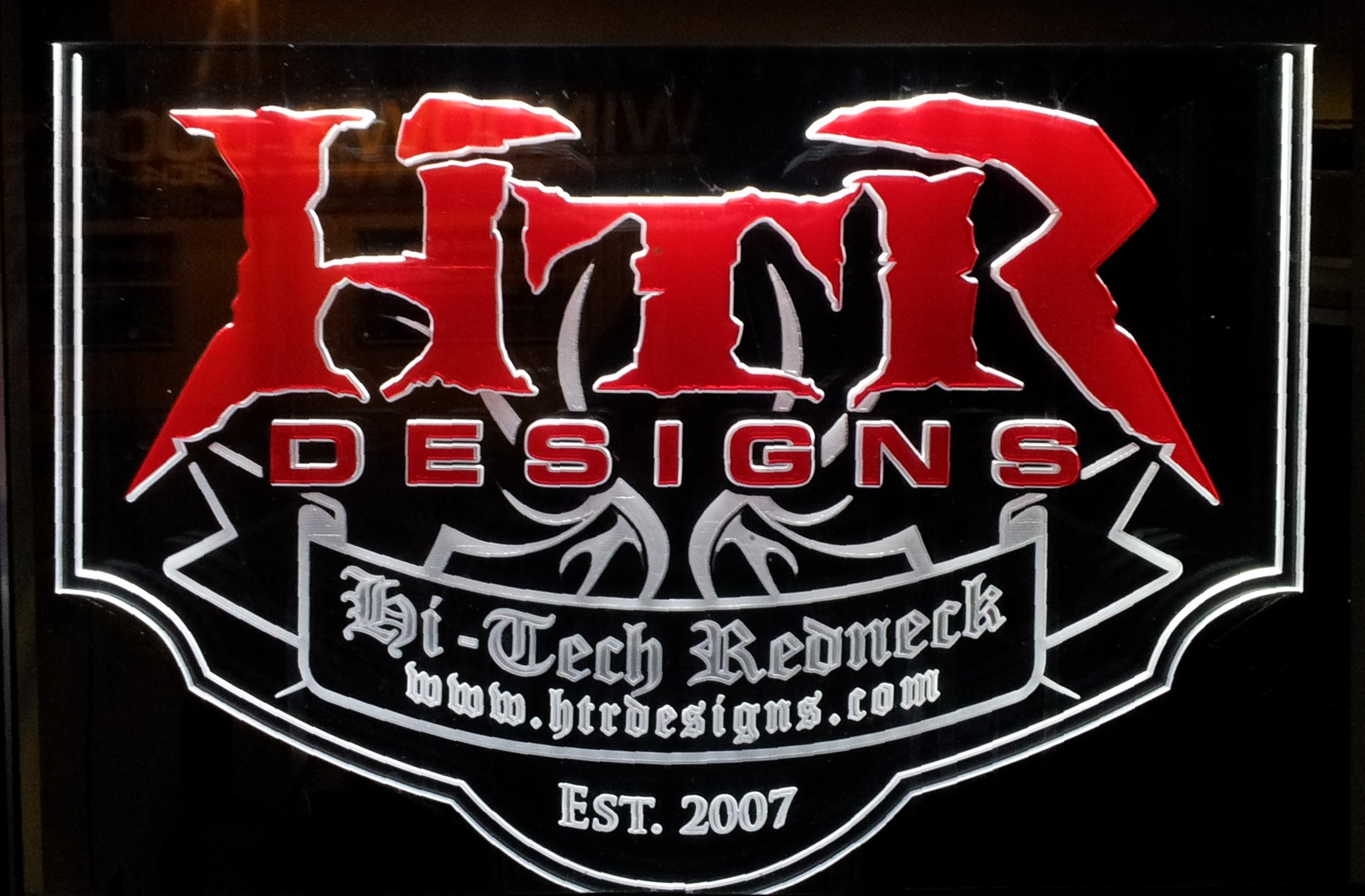 HTR Designs - Edge-Lit Sign