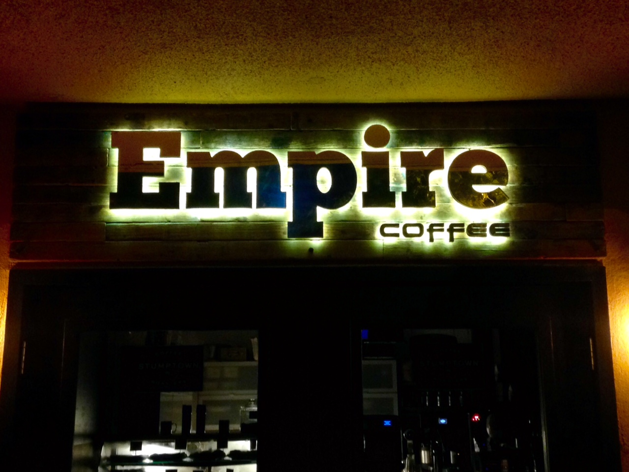 Empire Halo Sign