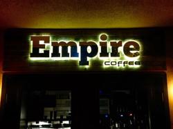 Empire Halo Sign