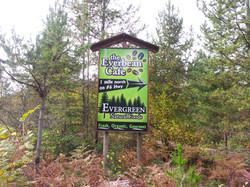 Everbean vinyl sign