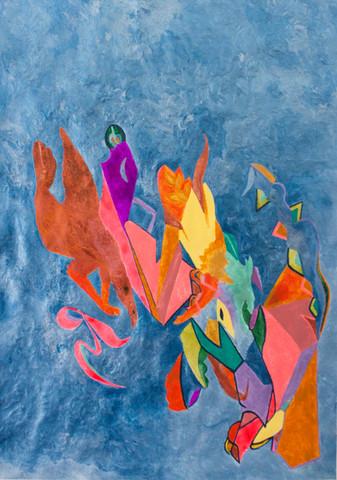 8. Untitled (Blue Field)