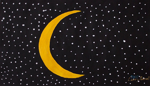 30(Moon)_Acrylic_11point5x17point5_2002.