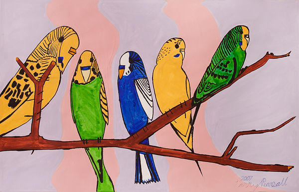 |LarryPearsall_Untitled(Birds)_Acrylic_1