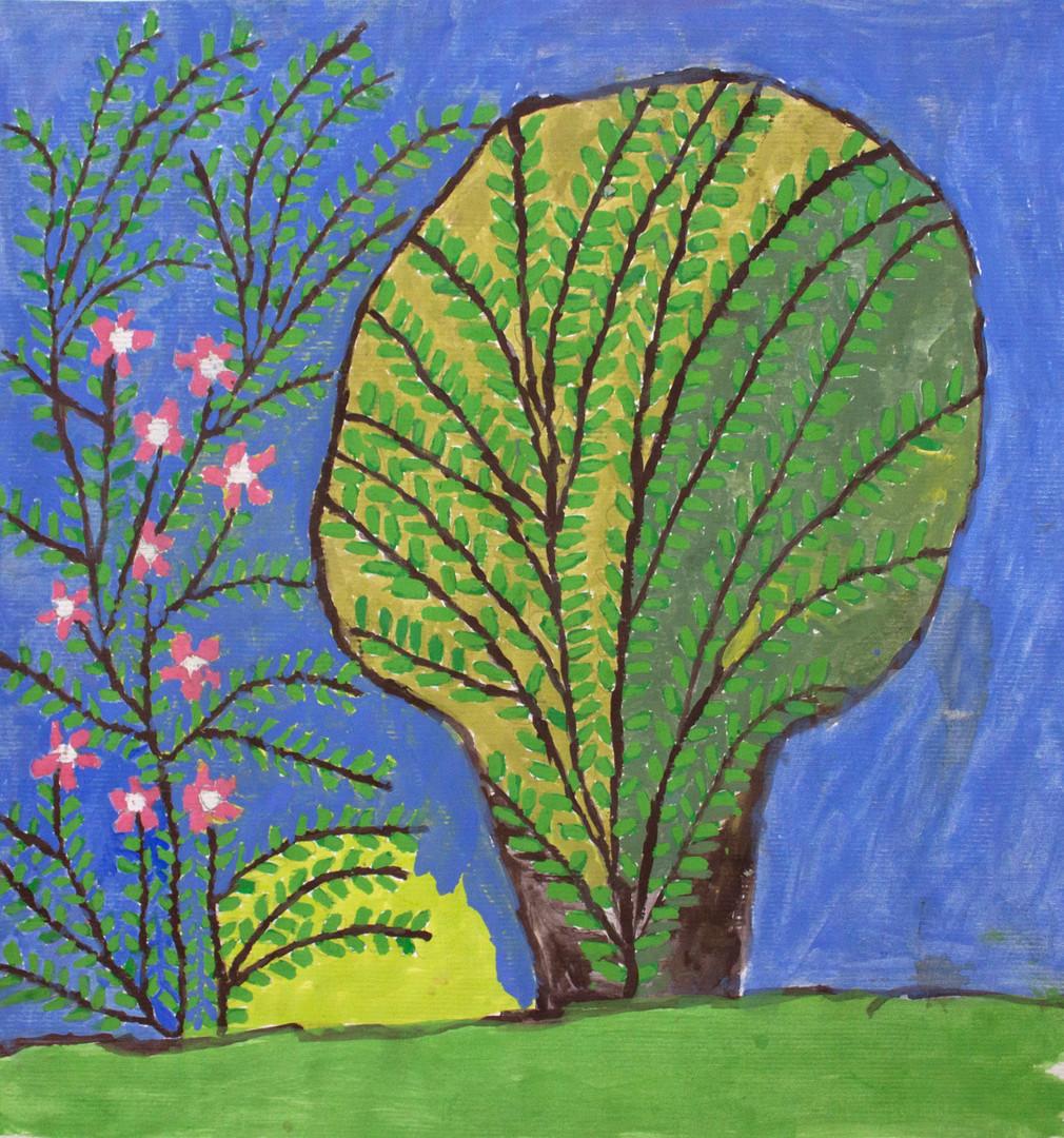 12. Untitled (Tree and bush)