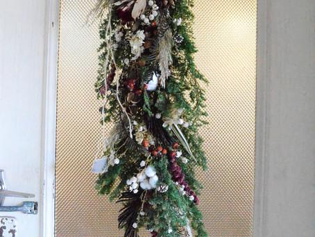 クリスマスツリーの代わりにも♪