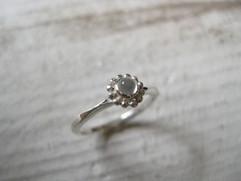 Friendship ring-moonstone-
