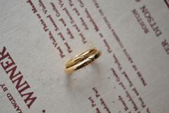 K18YG Mariage Ring/ハートライン