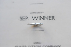 Semi Order Drop Of Water Ring -spiral/44-