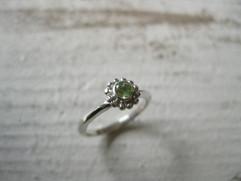 Friendship ring-peridot-
