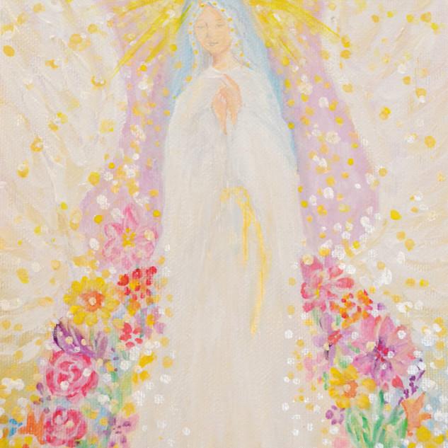 祈る聖母マリア