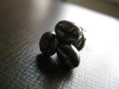 珈琲豆ピンバッチ
