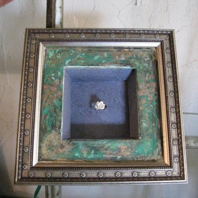 Illustration of bridal frame