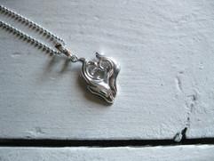 Dolphin's Pendant-Heart-