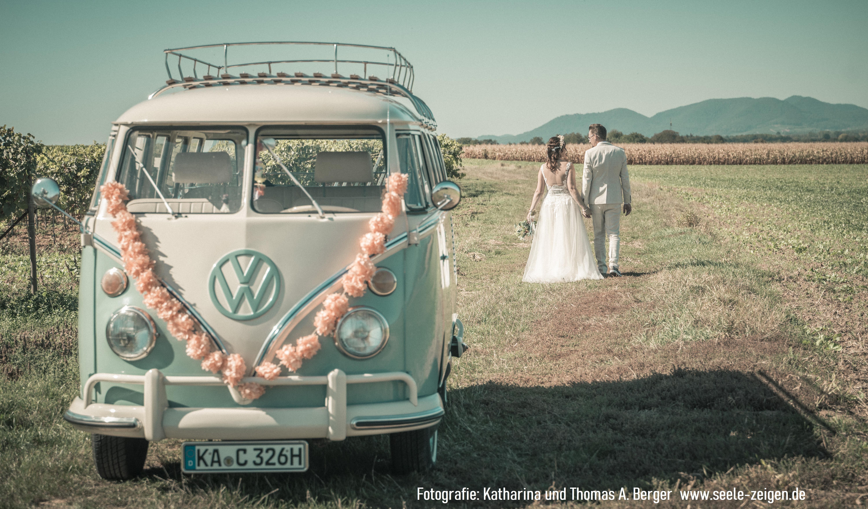 Hochzeit in den Weinreben