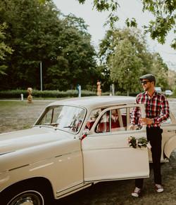 Hochzeitsauto Mercedes