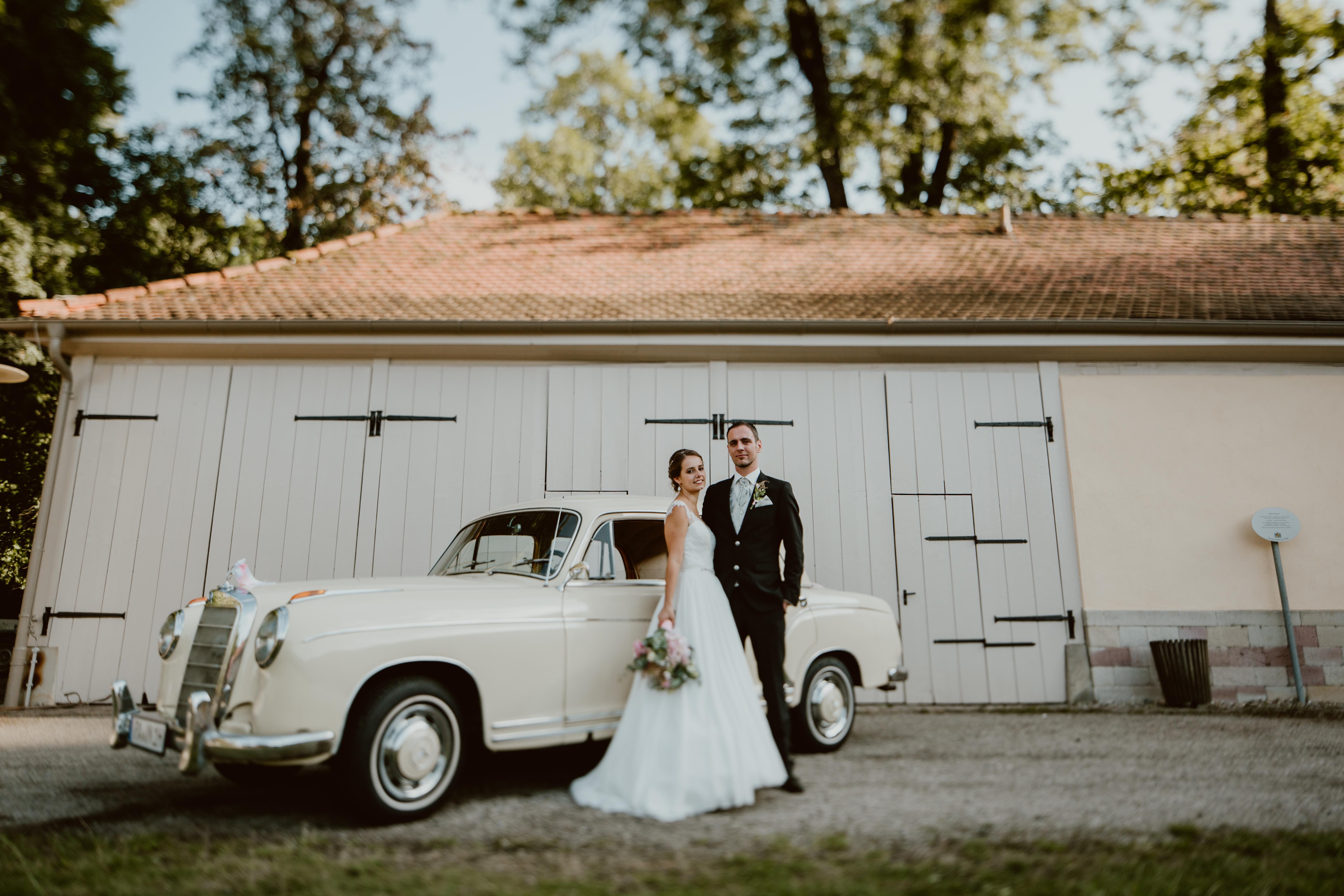 Hochzeitsauto Karlsruhe