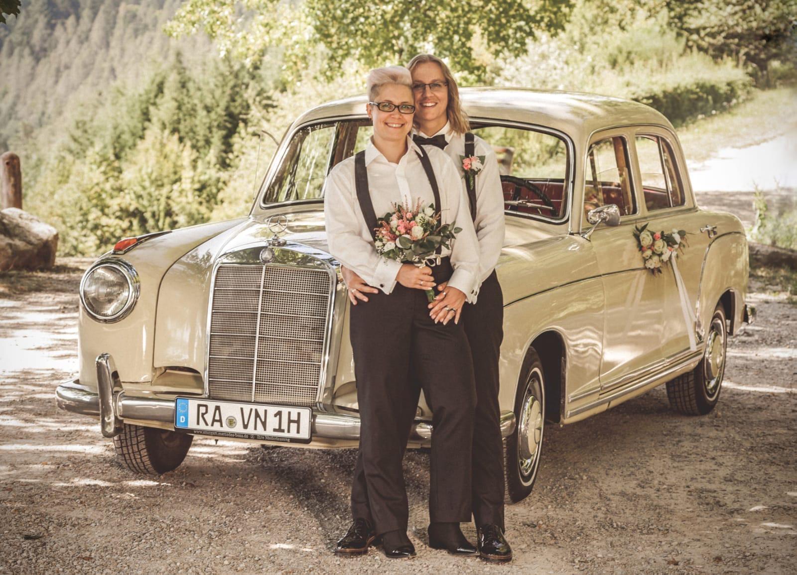Hochzeitsauto Oldtimer