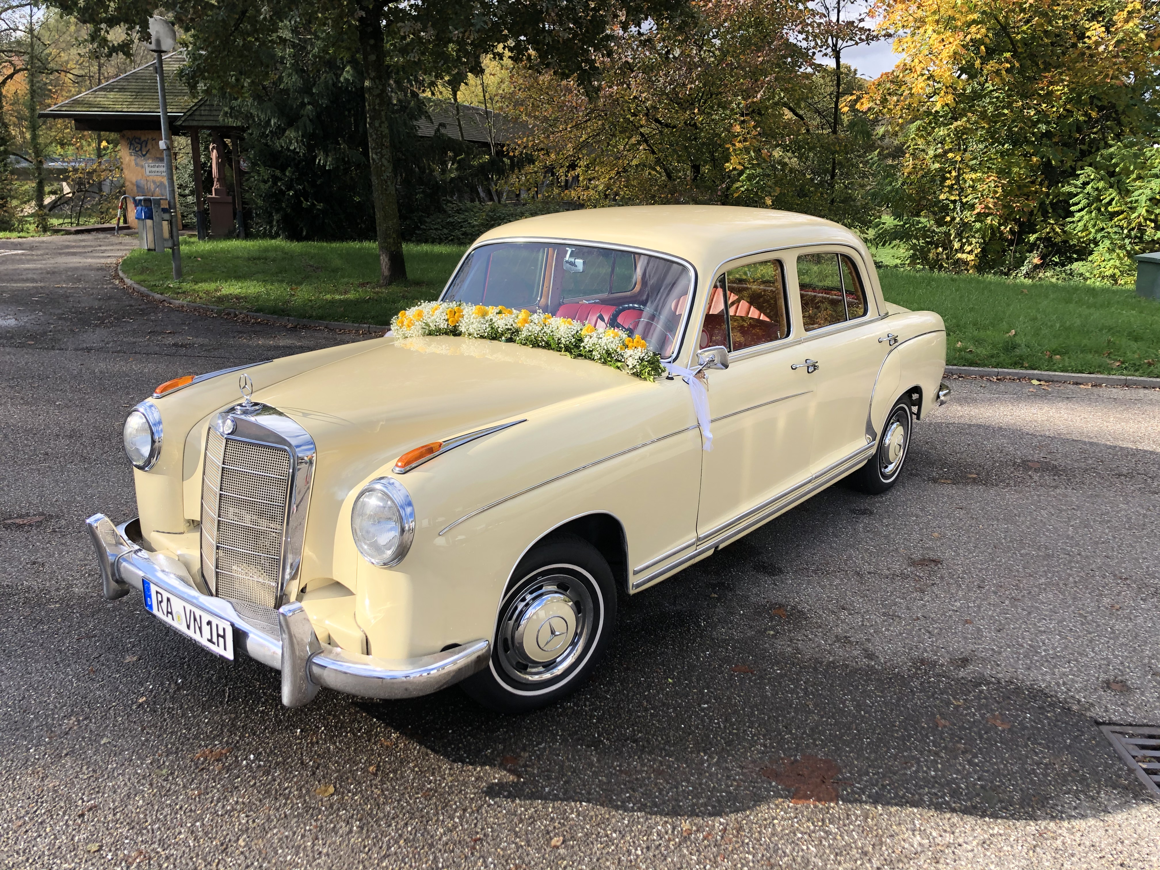 Hochzeitsauto Mercedes Oldtimer