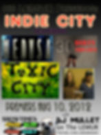 First Indie City Poster